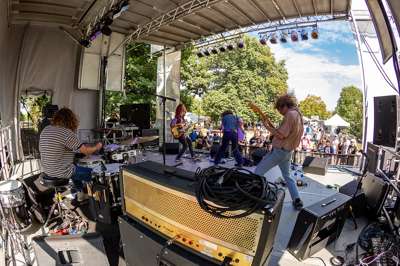 Briston Maroney on the Hilltop Stage at Holler on the Hill. Photo by Tony Vasquez