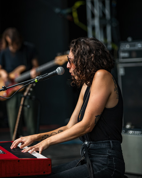 Katie Pruitt on the Main Stage at Holler on the Hill. Photo by Tony Vasquez