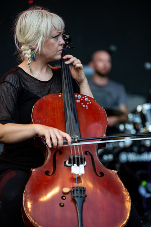 Murder by Death on the Main Stage at Holler on the Hill. Photo by Tony Vasquez