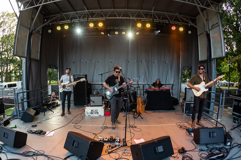 Susto on the Hilltop Stage at Holler on the Hill. Photo by Tony Vasquez