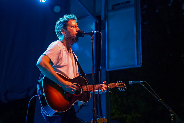 Will Hoge on the Hilltop Stage at Holler on the Hill. Photo by Tony Vasquez