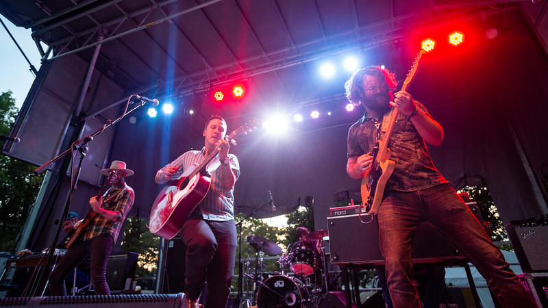American Aquarium on the Hilltop Stage at Holler On The Hill. Photo by Tony Vasquez