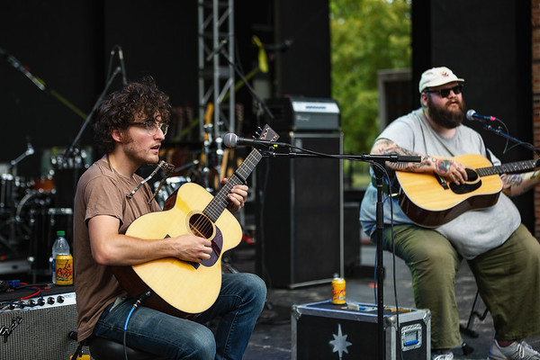 John Moreland on the Main Stage at Holler on the Hill. Photo by Tony Vasquez.