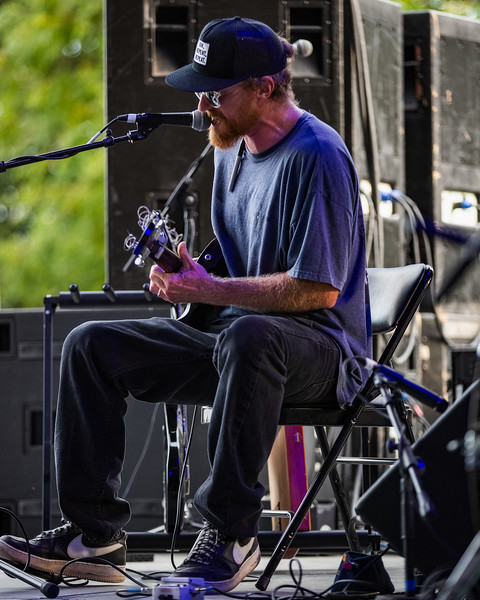 Left Lane Cruiser on the Hilltop Stage at Holler ON The Hill. Photo by Tony Vasquez