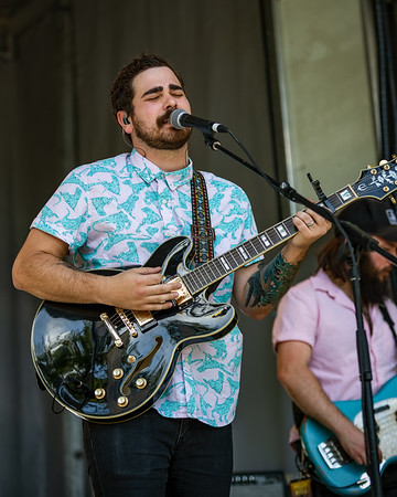 Motherfolk on the Hilltop Stage at Holler on the Hill. Photo by Tony Vasquez.
