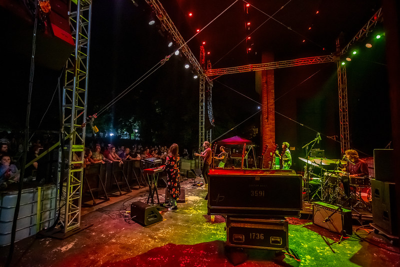 Mt. Joy on the Main Stage at Holler on the Hill. Photo by Tony Vasquez.
