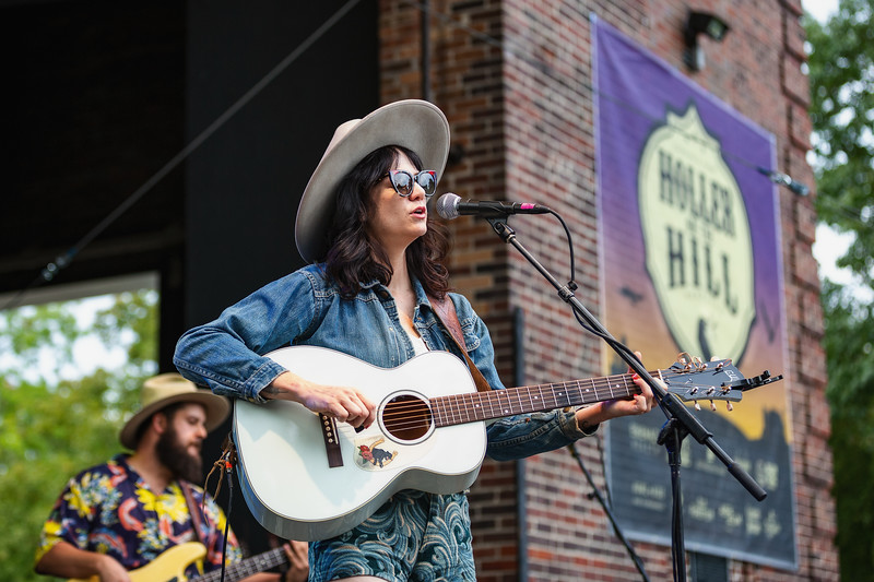 Nikki Lane on the Main Stage at Holler On The Hill. Photo by Tony Vasquez