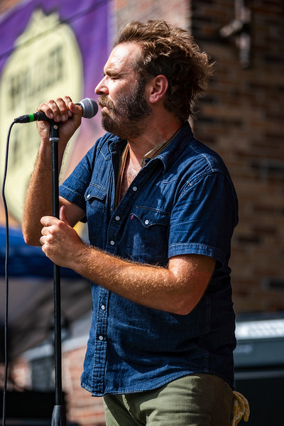 Red Wanting Blue on the Main Stage at Holler on the Hill. Photo by Tony Vasquez.