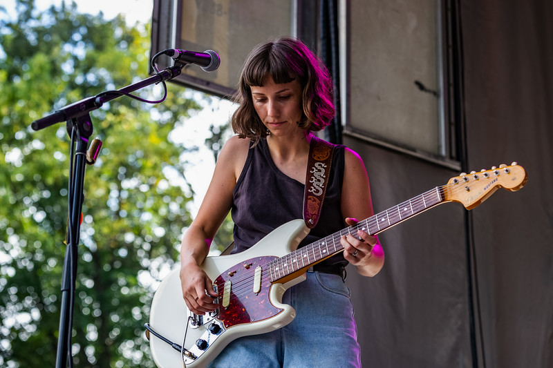 The Wild Reeds on the Hilltop Stage at Holler On The Hill. Photo by Tony Vasquez.