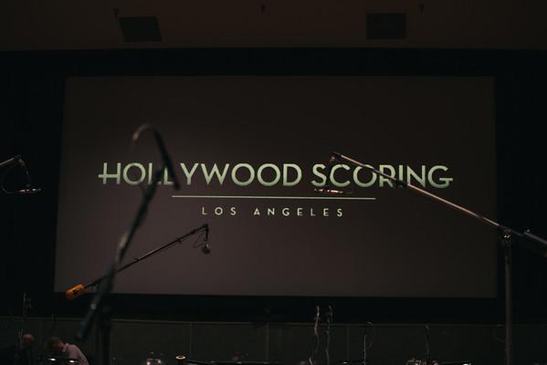Hollywood Scoring @ Warner Bros Eastwood Scoring Stage April 2016