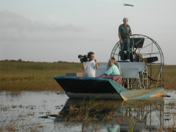 On location in the Everglades. Animal Planet.