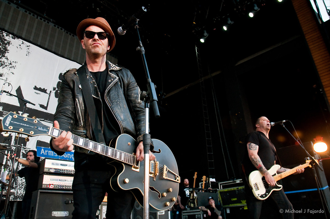 Tim Armstrong & Matt Freeman<br /> Rancid<br /> 2011 Honda Civic Tour<br /> Comfort Dental Amphitheatre<br /> September 4, 2011