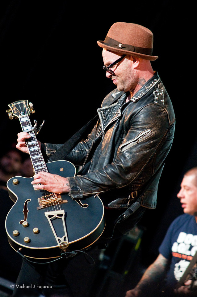 Tim Armstrong<br /> Rancid<br /> 2011 Honda Civic Tour<br /> Comfort Dental Amphitheatre<br /> September 4, 2011