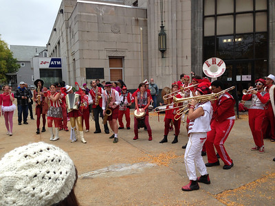Extraordinary Rendition, from Providence RI, playing in front of Dilboy Hall. 2pm Saturday. Our band had played there at 1pm (but I don't have pictures because I was busy playing).