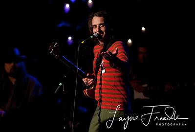 Stone Gossard - Pearl Jam - Hootenany for Haiti - Seattle WA