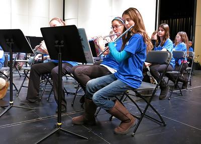 Hopkins Band Concert 6th grade