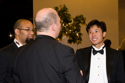 John Stanmore and Eric Peng chat with Jed Gaylin -- HSO 25th anniversary post-concert Gala