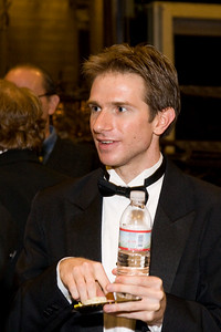 Concertmaster Martin Shultz -- HSO 25th anniversary post-concert Gala