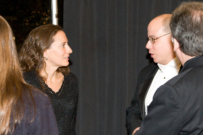 Amy Brusini and David Freiman -- HSO 25th anniversary post-concert Gala