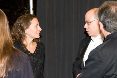 Amy Brusini and David Freiman -- HSO 25th anniversary post-concert Gala