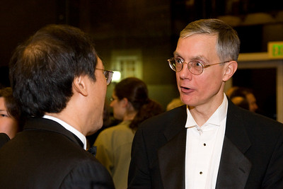 Keith Kaneda and Tom Shields -- HSO 25th anniversary post-concert Gala