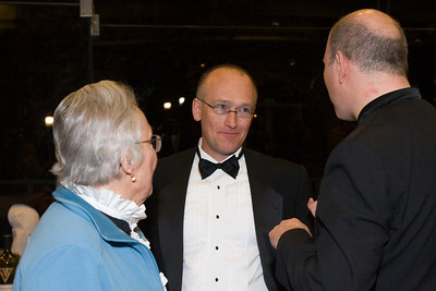 May Raila, Mark Benson, and Jed Gaylin -- HSO 25th anniversary post-concert Gala