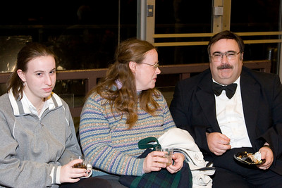 John Blaisdell and family -- HSO 25th anniversary post-concert Gala
