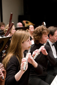 Chelsea Rinnig, Karen Yanson, flute, Paul Stapp, oboe --Hopkins Symphony Orchestra, March 2008