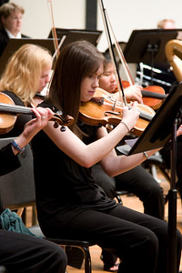 Rebecca Azhdam, violin -- Hopkins Symphony Orchestra, March 2008