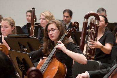 Rachel Kloss, cello -- Hopkins Symphony Orchestra, March 2008