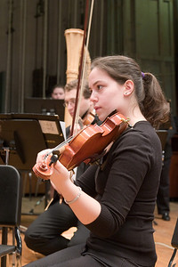 Alexandra Kornbluh, violin -- Hopkins Symphony Orchestra, March 2008