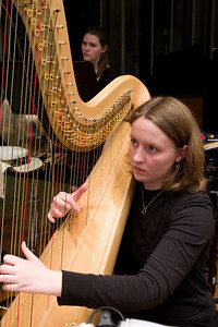 Elspeth Berry, harp -- Hopkins Symphony Orchestra, March 2008