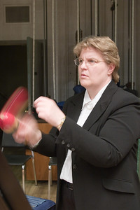 Vicki Willman, percussion -- Hopkins Symphony Orchestra, March 2008