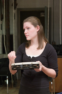 Jessica Gifford, percussion -- Hopkins Symphony Orchestra, March 2008