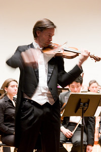 Kai Gleusteen, violin soloist -- Hopkins Symphony Orchestra, March 2008