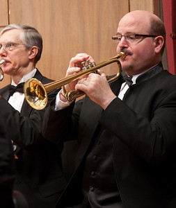 Bruce McWilliams, trumpet  --Hopkins Symphony Orchestra, March 2011
