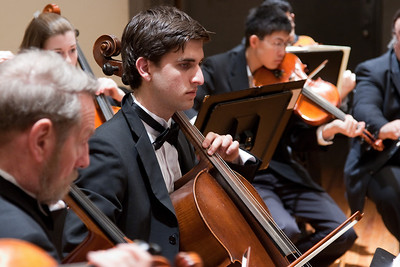 Philip Wolfe, cello -- Hopkins Symphony Orchestra, March 2011