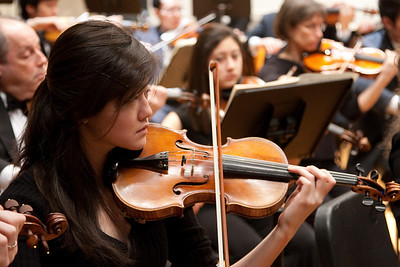 Lay Kodama, violin -- Hopkins Symphony Orchestra, March 2011