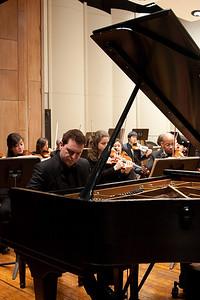 Enrico Elisi, piano soloist -- Hopkins Symphony Orchestra, March 2011