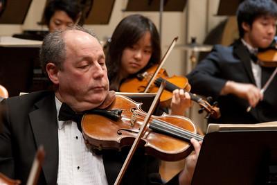 Bill Brown, violin -- Hopkins Symphony Orchestra, March 2011