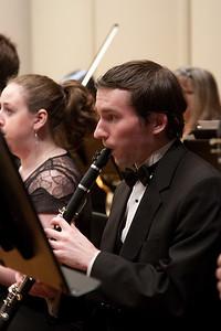 James Livengood, clarinet -- Hopkins Symphony Orchestra, March 2011