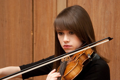 Rebecca Azhdam -- Hopkins Symphony Orchestra, March 2011