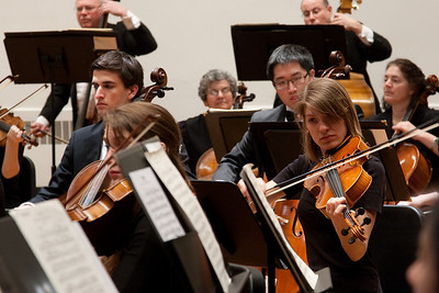 Marissa Jarosinski, viola -- Hopkins Symphony Orchestra, March 2011