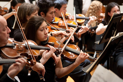 Rochelle Dumm, violin -- Hopkins Symphony Orchestra, March 2011