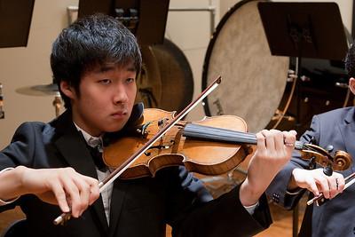 David Kim -- Hopkins Symphony Orchestra, March 2011
