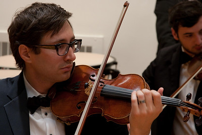 Peter Hussey, violin -- Hopkins Symphony Orchestra, March 2011