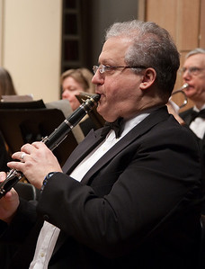 Larry Brown, clarinet -- Hopkins Symphony Orchestra, March 2011