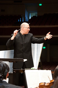 Jed Gaylin, Music Director -- Hopkins Symphony Orchestra, March 2011
