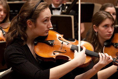 Emily Moore, viola -- Hopkins Symphony Orchestra, March 2011