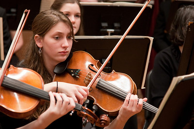 Malinda McPherson, viola -- Hopkins Symphony Orchestra, March 2011